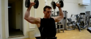 JohnnyFitness2 0536 300x130 The Best Shoulder Press